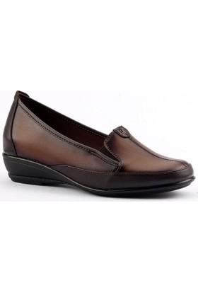 Ayakland 107 Yumuşak Taban Anne Bayan Klasik Ayakkabı