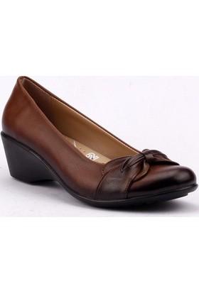 Ayakdaş 902 Günlük Anatomik 4,5 cm Dolgu Topuk Bayan Ayakkabı