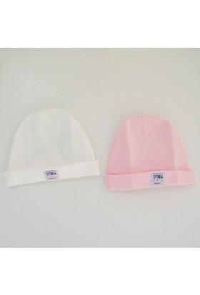 İdil Baby 8887 2'li Bebek Şapkası