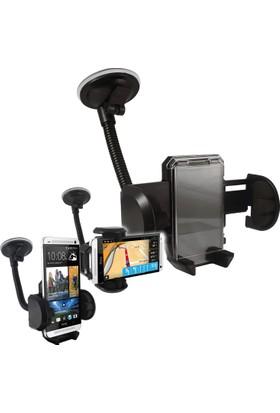 Pratik Universal Vantuzlu Araç Telefon Tutacağı