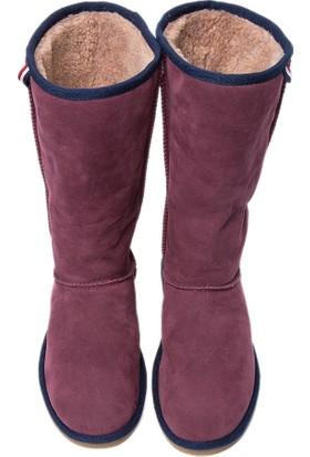 U.S. Polo Assn. Kadın K6Alaris Çizme Kırmızı