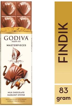 Godiva Masterpieces Fındık Tablet 83 gr