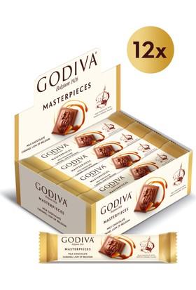 Godiva Masterpieces Karamel Bar 32 gr x 12 Adet