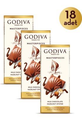 Godiva Masterpieces Fındık Tablet 83 gr x 18 Adet
