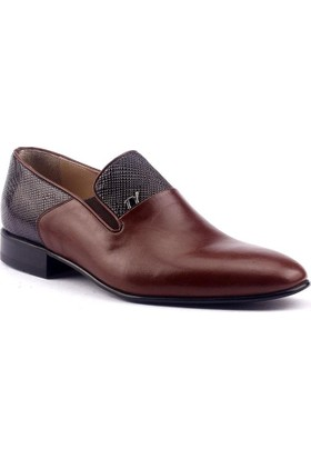 Tekyıldız 1517 Günlük Deri Neolit Taban Klasik Erkek Ayakkabı