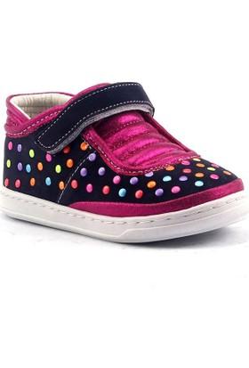 Çıngırak Deri Ortopedik Günlük Kız Çocuğu Spor Ayakkabı