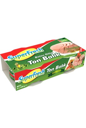 SuperFresh Ton Balığı Zeytinyağlı 160 gr x 2 Adet
