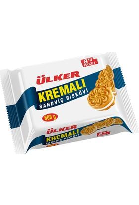 Ülker Kremalı Sandviç Bisküvi 8 Adet 76 gr