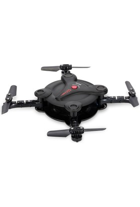 Fq777 Fq17W Wifi Cep Telefonu Kontrollü 720P Fpv Kamera Mini Drone - Siyah