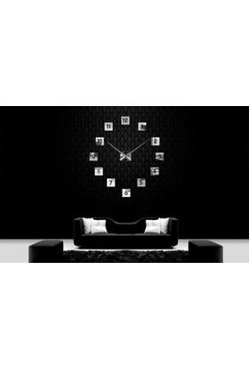Dıy Clock Yeni Nesil 3D Duvar Saati Model 12