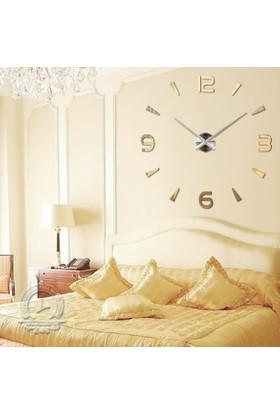 Dıy Clock Yeni Nesil 3D Duvar Saati Model 18