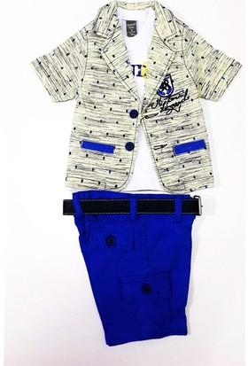 Control 98 Kırçıllı Ceketli Erkek Bebek Takımı