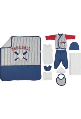 Bebetto Baseball 10'lu Zıbın Set