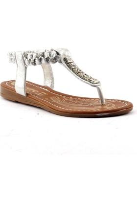 Meyro Günlük Parmak Arası Bayan Sandalet Ayakkabı