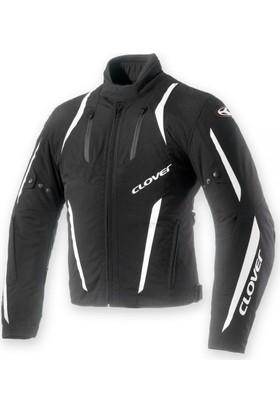 Clover Air Blade-2 Siyah-Beyaz Kadın Ceket