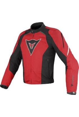 Dainese G. Laguna Seca Tex Ceket Kırmızı-Siyah