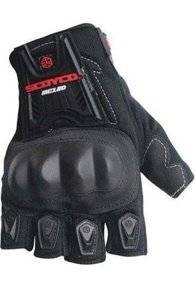 Scoyco MC12 Parmaksız Eldiven Siyah