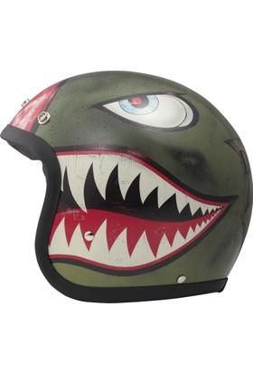 DMD Jet Vintage Shark Kask
