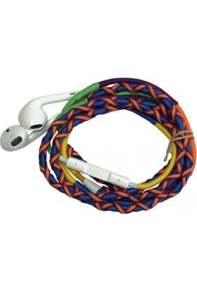 L-Tech . İp Örgü Desenli Kulaklık İos - Ya554A