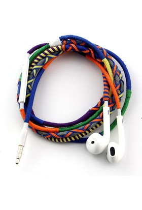 L-Tech . İp Örgü Desenli Kulaklık İos - Ad4Z9A8