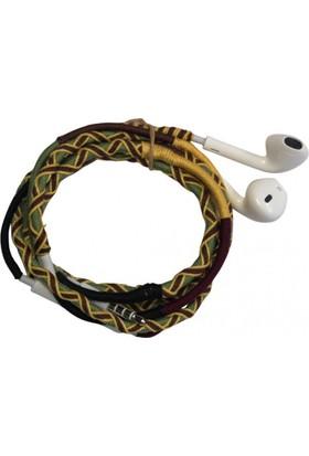 L-Tech . İp Örgü Desenli Kulaklık İos - Pl8273