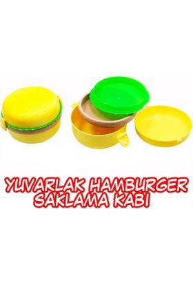 Akay Yuvarlak Hamburger Beslenme Kabı