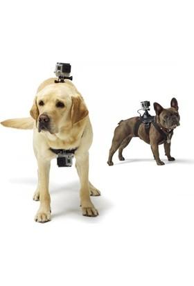 Markacase Gopro Hero 5-4-3-3+ , Sjcam Ve Session İçin Köpek Askısı Çift Kamera Tutucu Aparatı Dog Strap