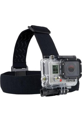 Markacase Gopro Hero 5-4-3-3+ Ve Session Kafa Bandı Bandana Head Strap