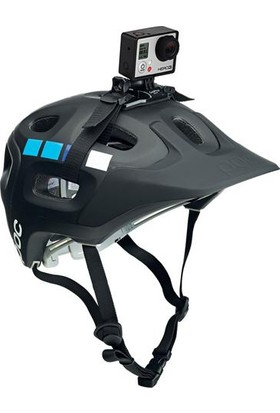 Markacase Gopro 5-4-3-3+ Ve Session Uyumlu Kask Aparatı Askısı Helmet Strap