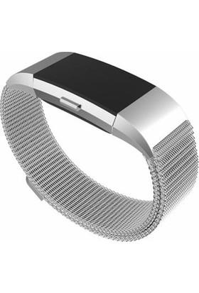 Markacase Fitbit Charge 2 Mıknatıslı Kayış Kordon