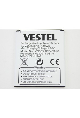 Vestel Venüs 5.5 X Vsp355S Batarya Pil