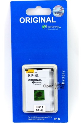 Bower Bw Nokia E52 Cep Telefonu Batarya Pil