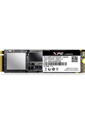 Adata ASX7000NP 1800/850MB NVMe 1.2 128GB PCIe Gen 3X4 Gaming SSD 3D NAND M.2 ASX7000NP-128GT-C
