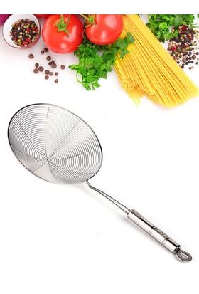 Kitchen Love Çelik,Saplı Kevgir