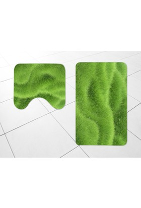 Umy Halı 3D Banyo/Klozet Takımı