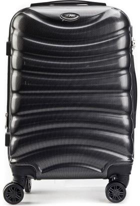 Kemeraltı Çanta Polychrome Material Orta Boy Günlük Valiz Siyah