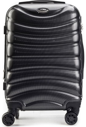 Kemeraltı Çanta Polychrome Material Kabin Boy Günlük Valiz Siyah