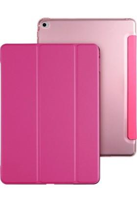 Ebrar iPad Pro 9.7 Smart Case Tablet Kılıf + Kırılmaz Cam + Kalem + Aux Kablo + Kulaklık