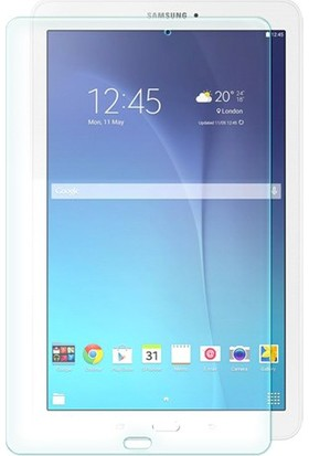 Ebrar Glass Shop Samsung Galaxy Tab E T560 Kırılmaz Cam Ekran Koruyucu - Tempered Glass