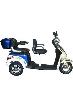 Kral Vesta 4500 Elektrikli 3 Kişilik Scooter Mv - Byz 2017