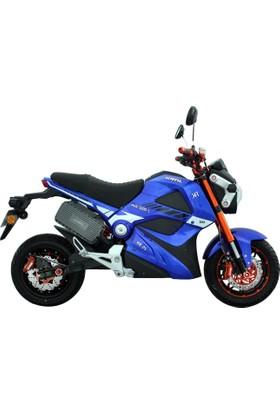 Kral Ava Elektrikli Scooter Mavi - Siyah 2017