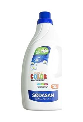 Sodasan Organik Çamaşır Yıkama Sıvısı - Renkliler 1.5 Lt.