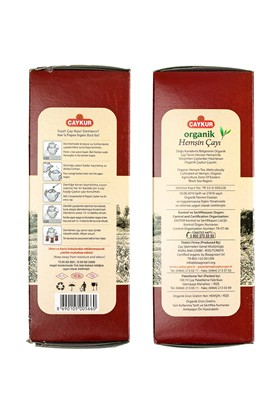 Çaykur Organik Siyah Hemşin Çayı 400 gr (Karton Kutu)