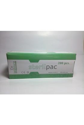Dezenfekte Edilmiş Ürünleri Koruma Paketi Steril Pac 200 Lü 90X240 Mm