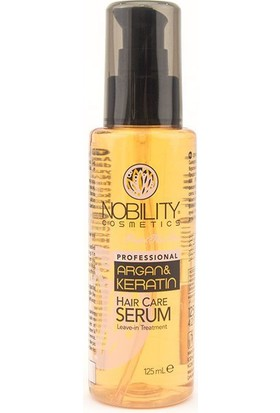 Nobility Argan & Keratin Haır Care Serum 125 Ml