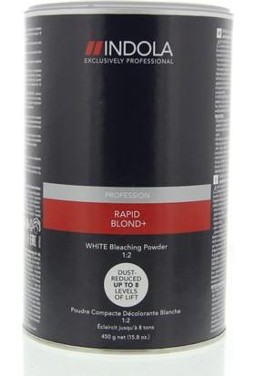 İndola Rapıd Blond Saç Açıcı 450 Gr Beyaz