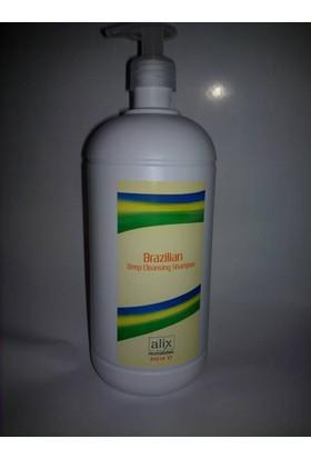 Alix Brezilian Deep Cleansıng Shampoo 1000 Ml Brezilya Fönü