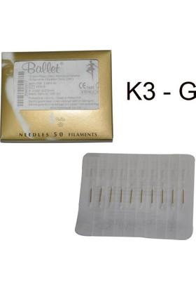 Ballet Gold K3G Altın Epilasyon İğnesi