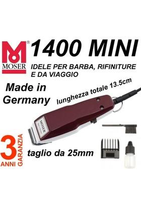 Moser 1400 Mini Saç Kesme Makinası Düz