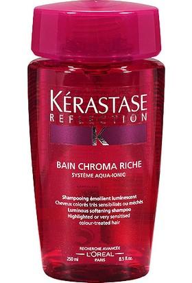 Kerastase Reflection Chroma Riche - Boyalı/Röfleli Hassas Saçlar İçin Renk Koruyucu Şampuan 250 Ml